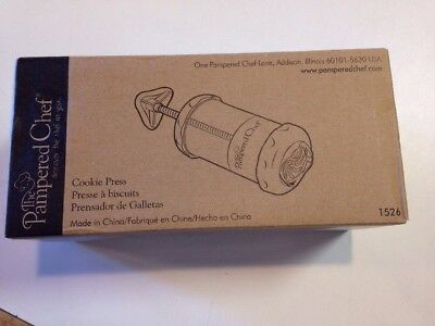 The Pampered Chef Cookie Press #1526 Brand New- Get in time for Holiday baking!