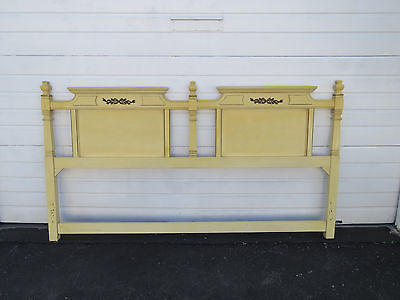 French King Size Painted Headboard 8592