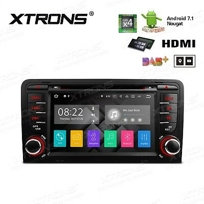 """Radio Dvd Gps Audi A3 S3 8P Android 7.1 Lcd Tactil 7"""" Hd Canbus Hdmi Bluetooth"""
