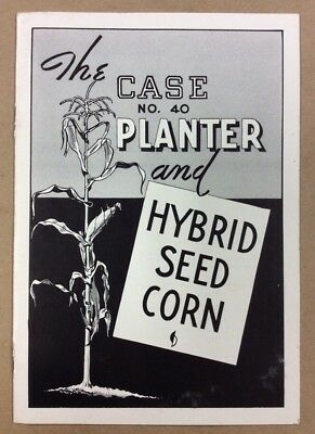 Case No. 40 Planter And Hybrid Seed Corn Brochure INV-P025