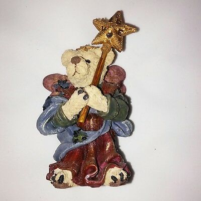 Boyds Bears Bearstone Serendipity, as the Guardian Angel Item #2416 Series #4