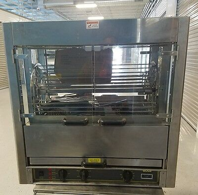 Equipex RBE-25 Electric 3-Spit Commercial Rotisserie, 220 v......3 Phase