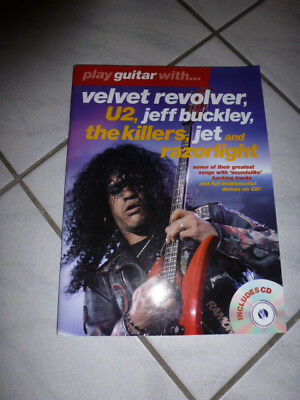 Play guitar with Velvet Revolver, U2, The Killers ect. mit TAB und Cd