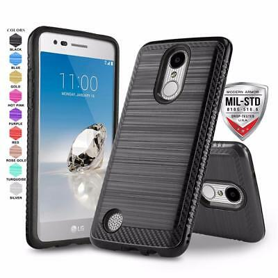 FOR [LG REBEL 2 Lte] Phone Case [Modern Series] Shockproof Defender Hybrid  Cover