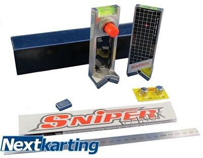 Sniper V2 Inox 2 Magnetic Laser Alignment Kit System - Cadet Rotax X30 - Kart -