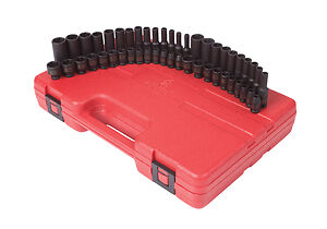 "Sunex Tools 1848 48 Pc 1/4"" Dr Master Impact Socket Set"