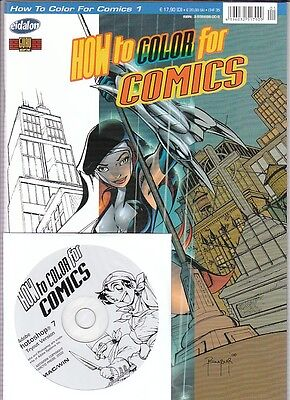 How to Color for Comics Nr.1 mit CD in Topzustand !!!