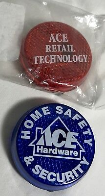 2 - Ace Hardware Flashing Buttons safety security