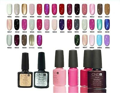 LOT 10 Vernis à ongle semi permanent CND  SHELLAC Gel UV LED Manucure séchoir