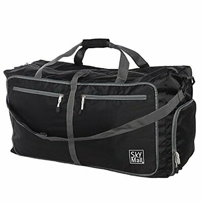 SkyMall Foldable Sports Gym Bag Travel Duffle Bag Lightweight Weekend Bag