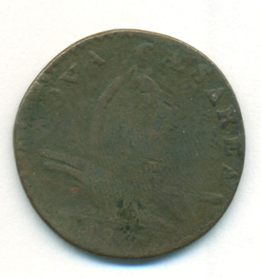 1787 New Jersey Colonial Copper Coin