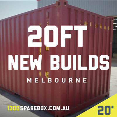 BUY SHIPPING CONTAINERS - 20FT NEW BUILDS (2016) - Melbourne