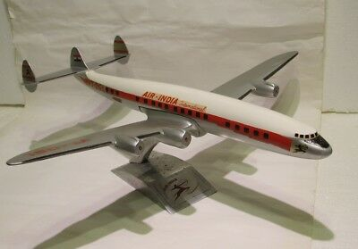 Aeroplane die cast stand modell Air India Lockheed L-1049 Super Constellation