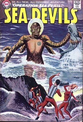 Sea Devils #22 1965 GD/VG 3.0 Stock Image Low Grade