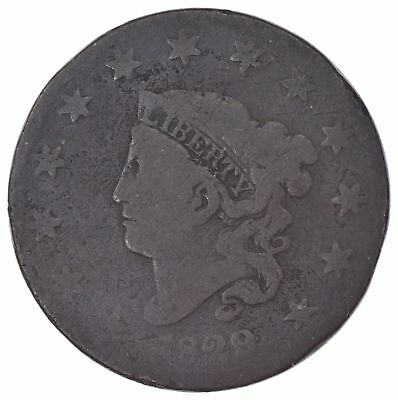 EARLY - 1829 Liberty Head United States LARGE CENT - TOUGH Coin *992