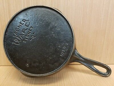 Wagner Ware #4 Cast Iron Skillet