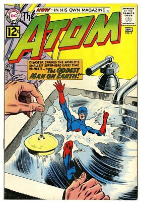 Atom #2 VF 8.0 ow/white pages  DC  1962  No Reserve