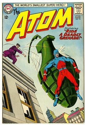 Atom #10 VF+ 8.5 off-white pages  DC  1964  No Reserve