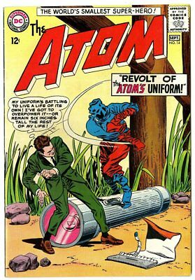 Atom #14 VF/NM 9.0 off-white pages  DC  1964  No Reserve