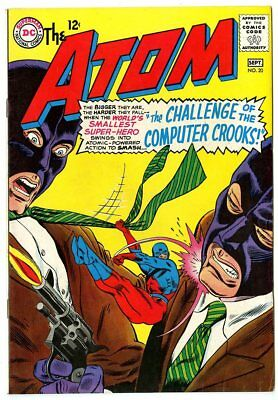 Atom #20 VF/NM 9.0 white pages  DC  1965  No Reserve