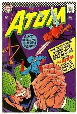 Atom #26 VF+ 8.5 ow/white pages  DC  1966  No Reserve