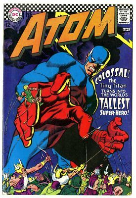 Atom #32 VF/NM 9.0 ow/white pages  DC  1967  No Reserve
