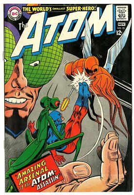 Atom #33 NM- 9.2 white pages  DC  1967  No Reserve