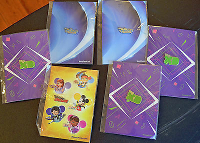 Disney Channel Pins - Lot of 6 NEW