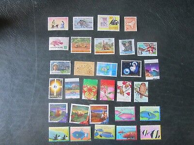 Christmas Island stamps:  selection of 30 different mainly fine used