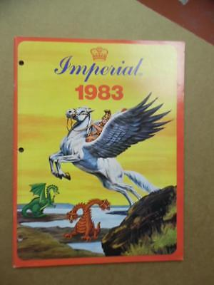 1983 IMPERIAL TOYS Toy Fair Dealer Catalog Victory Force Army Dragons & Daggers