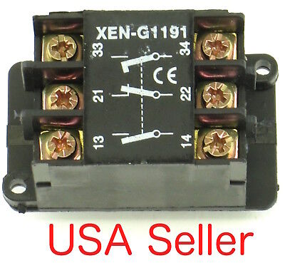 New Contact Block Direct Replacement Fits Telemecanique Xen-G1191