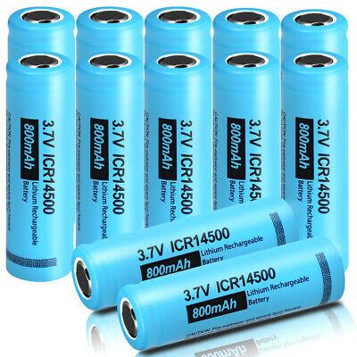 20 x ICR18650 2600mAh 3.7V Li-ion Button Top Rechargeable Battery CA Seller New