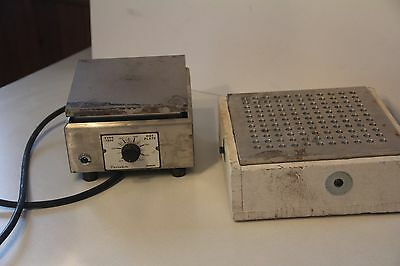 Sybrom Hot Plate Themolyne Type 1900 Works Model Hp19-A15B Used Dri-Bath?