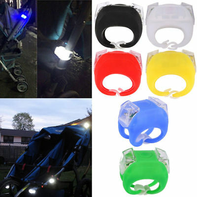 New Night Silicone Caution Light Lamp For Baby Stroller Night Out Safety 1PC
