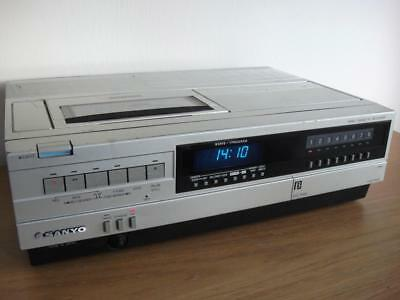 Sanyo VTC-5000 Betamax Video Recorder Beta - Fully Working - New Belts Fitted