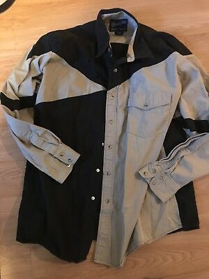 Pre-owned Mens Square Dance Shirt Size 2XL