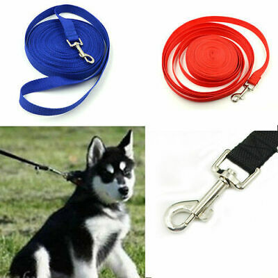 10m/15m/20m Long Dog Pet Puppy Training Obedience Lead Leash Dog Supplies