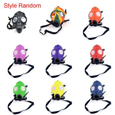 Gas Mask Useful Bong Hookah Smoking Hookah Mask Set New Style Color Random