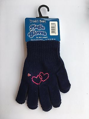 Sparkly Bling Ice Skating Dress Clothes Magic Gloves Child Size GREAT GIFT
