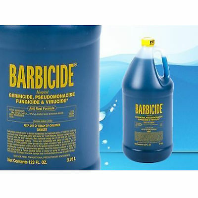 Barbicide Disinfectant Concentrate Solution Anti Rust Formula GERMICIDAL - 64oz