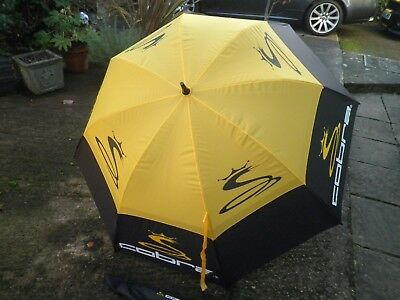 Cobra 54 Inch Double Canopy Golfing Umbrella Excellent Condition.