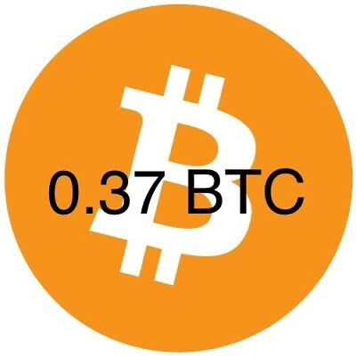 0.37BTC Bitcoin directly to your wallet investment Trusted seller..