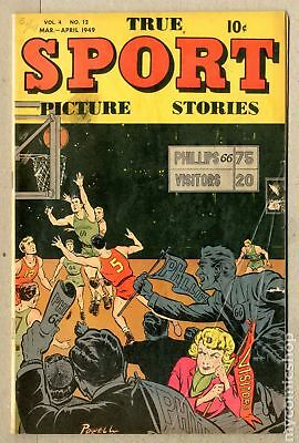 True Sport Picture Stories Vol. 4 #12 1949 GD/VG 3.0