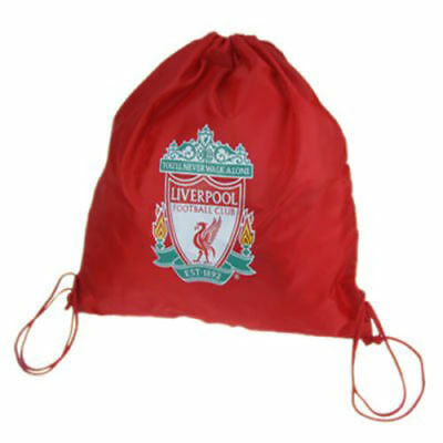 Liverpool Football Club Crest Gym Bag Red You'll Never Walk Alone Great Gift