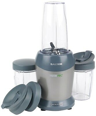 Salter EK2002SILVER Nutri Pro Super Charged Multi-Purpose Nutrient Extractor Ble