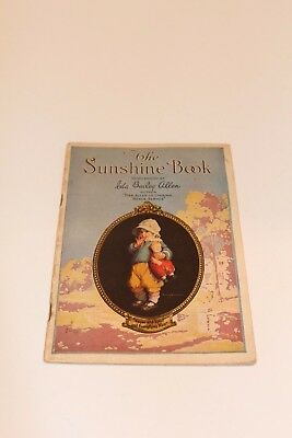 "Vintage ""The Sunshine Book"" by Ida Bailey Allen; Loose Wiles Bisquit Co"