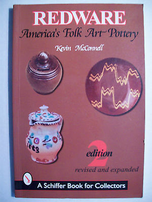 REDWARE POTTERY PRICE GUIDE COLLECTOR'S BOOK Molds w/Jars Crocks Churns Vase