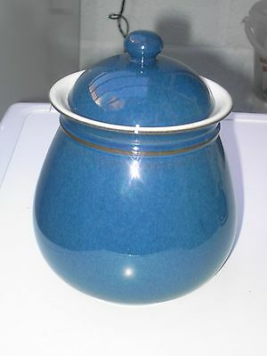 Denby Boston Storage Jar In Good Clean But Used Condition