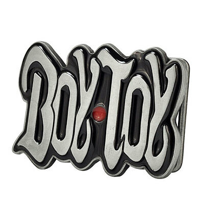 Boy Toy Belt Buckle Painted Black Metal Cute Girly Sexy Unique Hip New