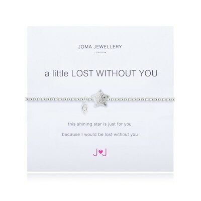 A Little Lost Without You Bracelet- Joma Jewellery Gift